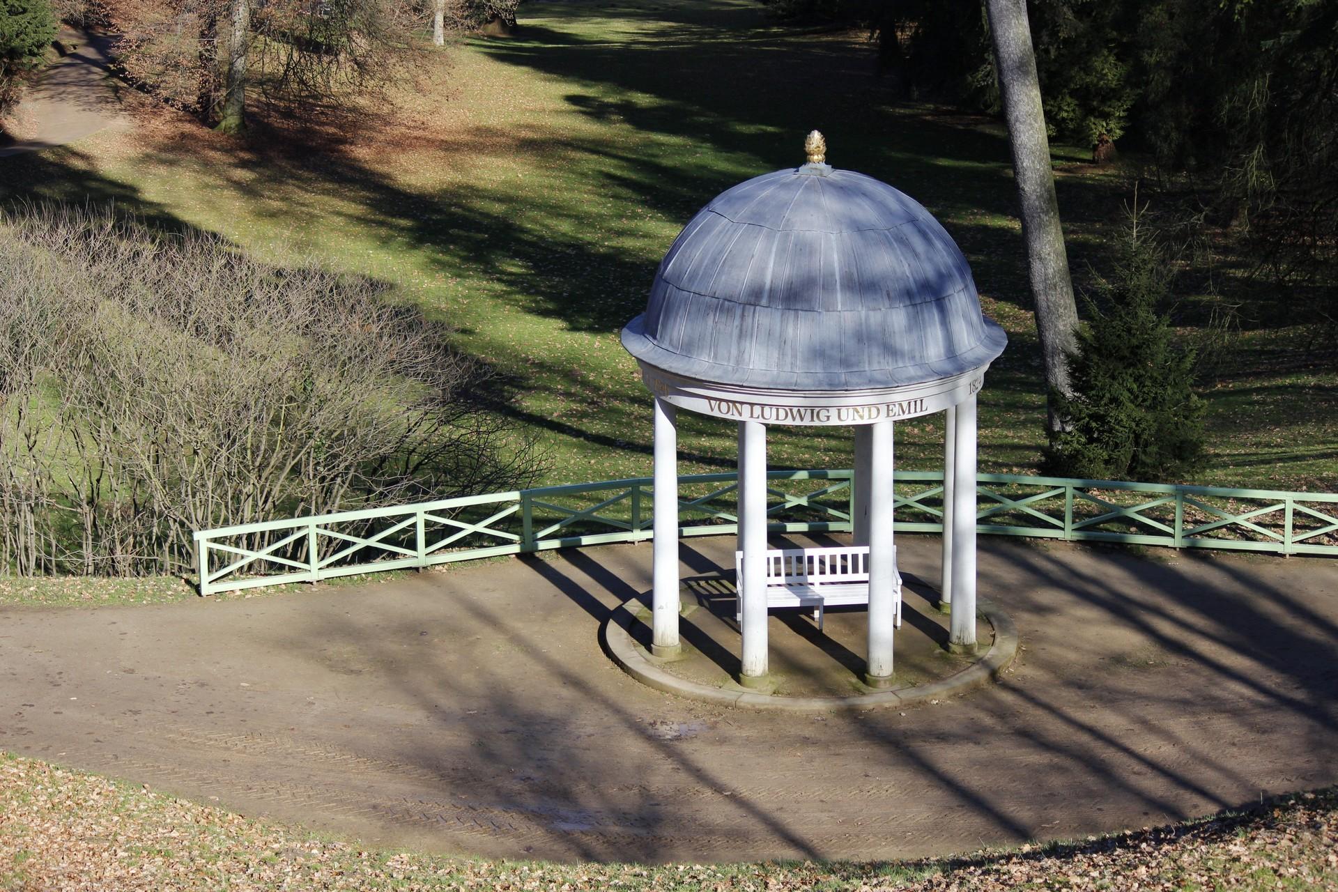 Pavillon im Fürstenlager Bensheim
