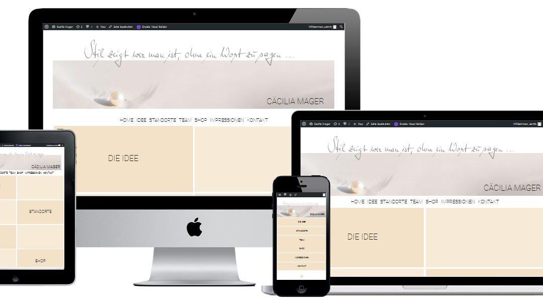 Website und Online-Shop