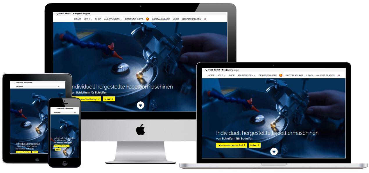 Responsive Website von Holzbau Schwan GmbH