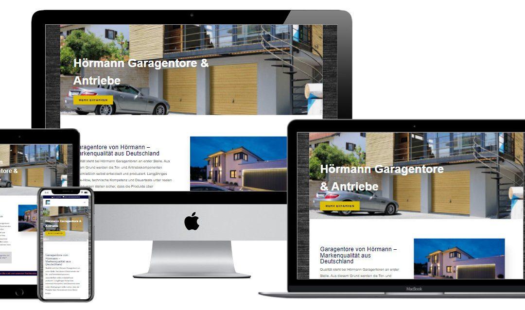 Website, Landing-Page und Produktfinder