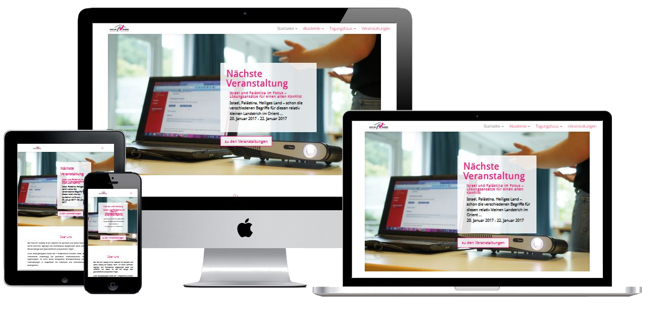 Website Haus am Maiberg Heppenheim