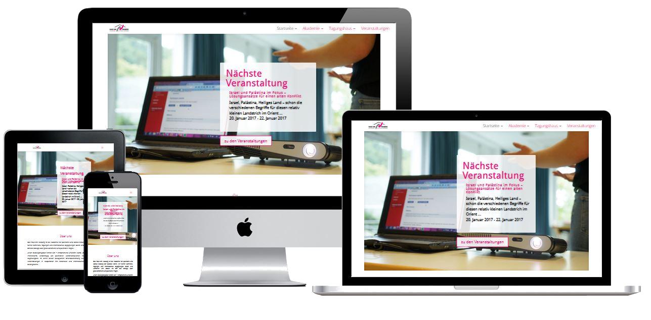 Website mit Eventkalender / Wordpress