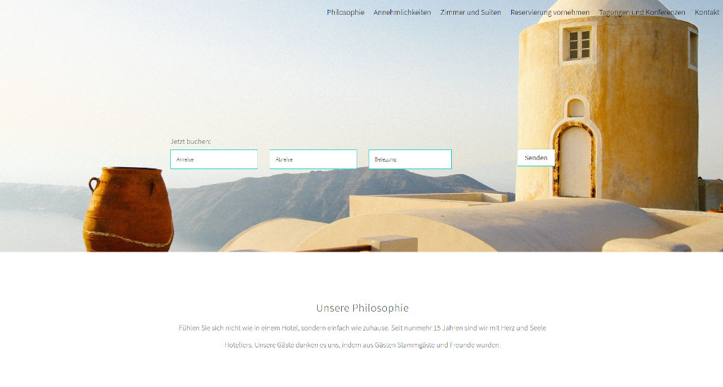 Wir gestalten Homepages für Ferienwohnungen