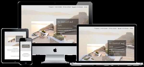 Website Erstellung für Ferienwohnung