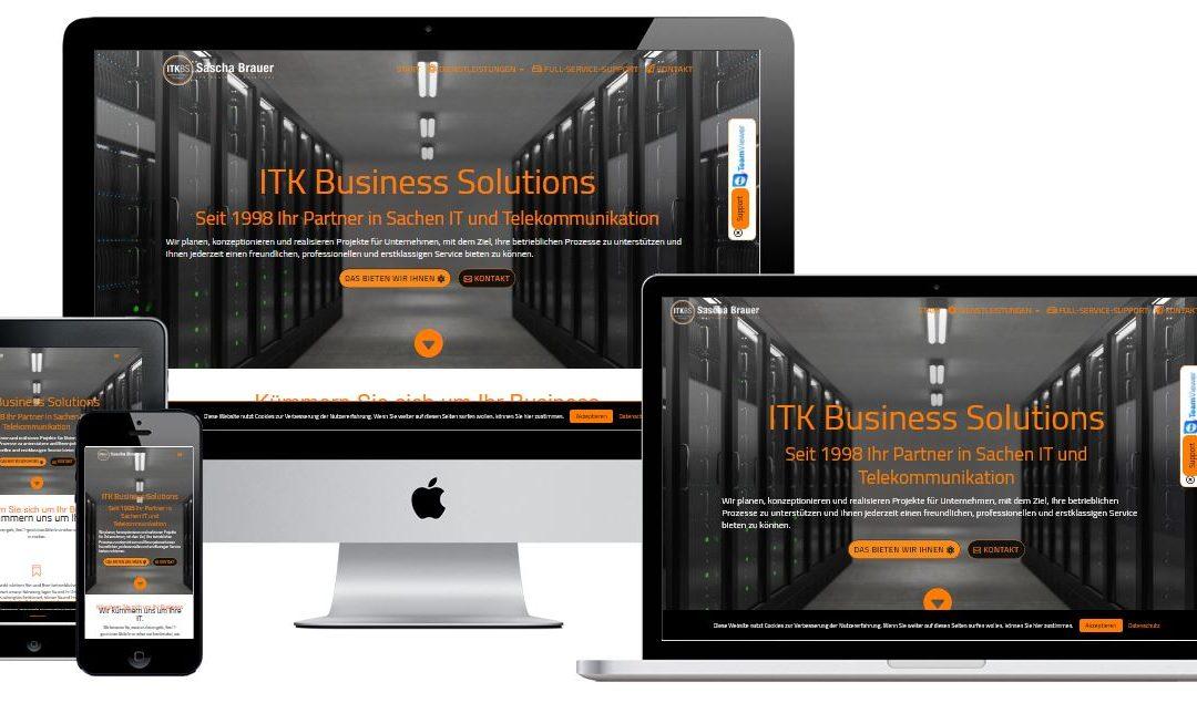 WordPress-Webdesign und -Entwicklung für IT-Dienstleister