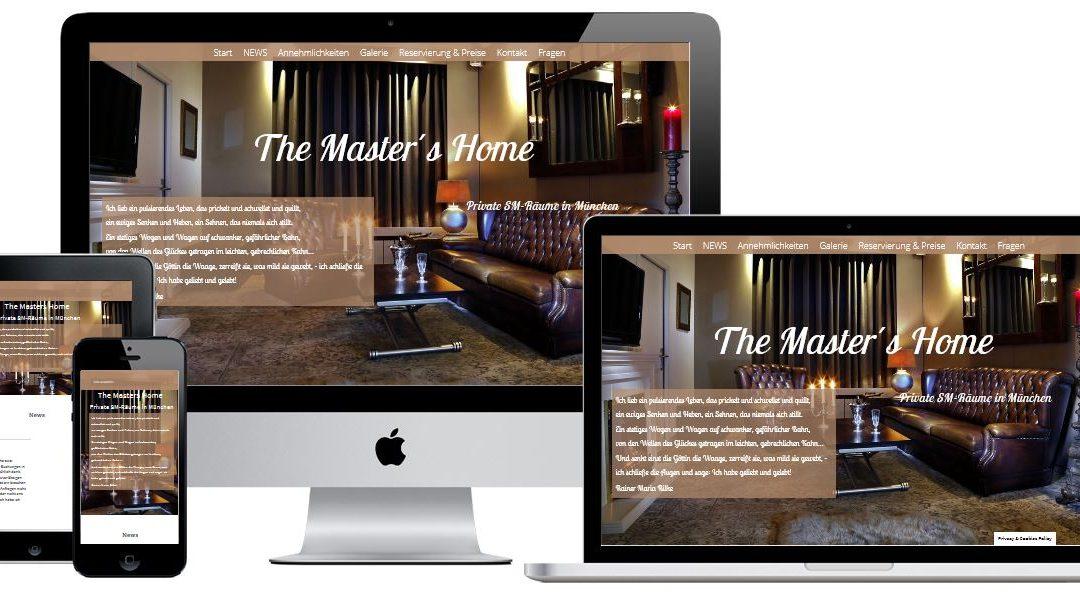 Webdesign für eine SM-Ferienwohnung mit Buchungssystem