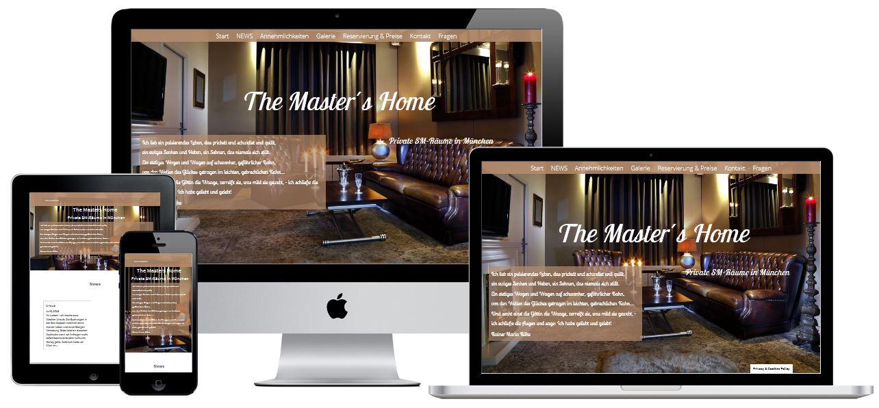 Wordpress Webseite für Ferienwohnung