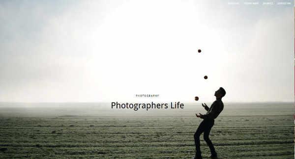 Homepages für Fotografen