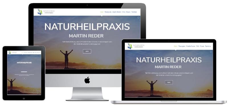 Homepage für Heilpraktiker