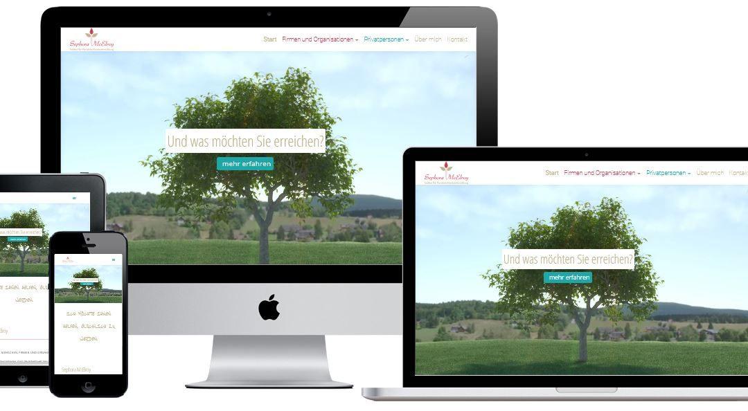 Konzept und Entwicklung einer Website auf Basis von WordPress